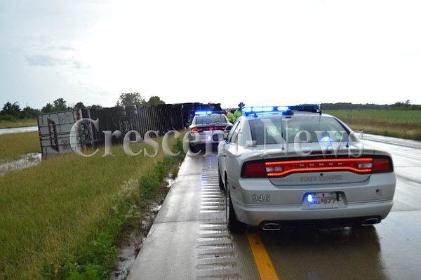 07-18-15 NEWS Semi Accident on 24