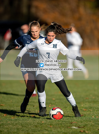11/13/2019 - Girls Varsity Soccer - NEPSAC Class A Quarter Final - Hotchkiss vs Nobles