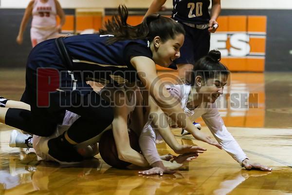 University Cougars @ Boone Braves Girls Varsity Basketball - 2019