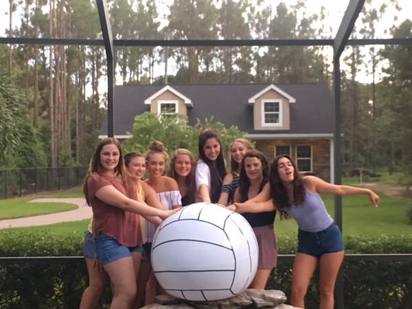 Varsity Girls Volleyball Kickoff Party