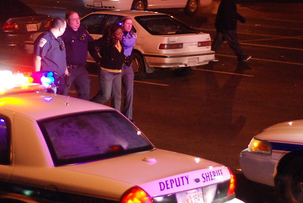 1/4/2009 Large fight at Hollywood Firehouse and Beating on the Side of the Road