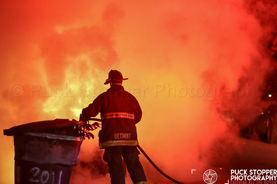 Car Fire - 1953 24th St, Detroit, MI - 11/11/18