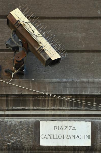 Anti-Pigeon Camera - Reggio Emilia, Italy - May 21, 2010