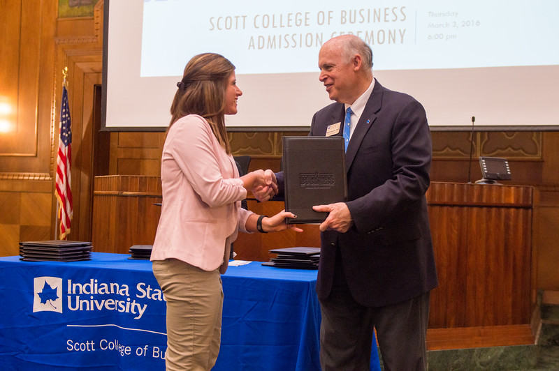 scott college of business admission ceremony