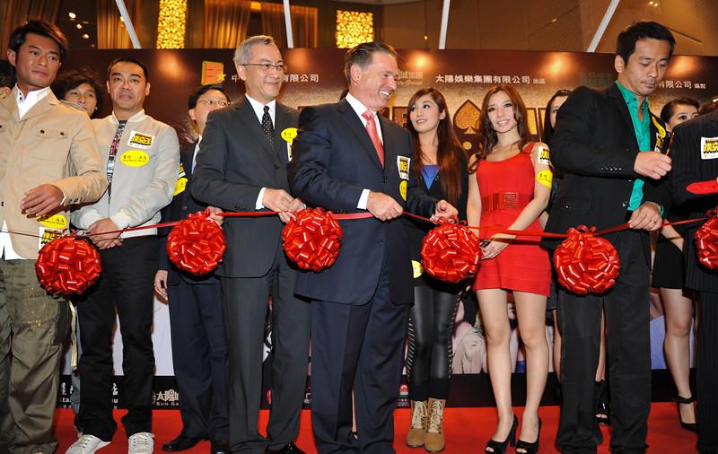 Poker King Club Casino Grand Opening in Macau