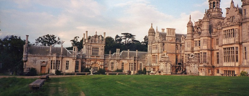 The grounds of Harlaxton