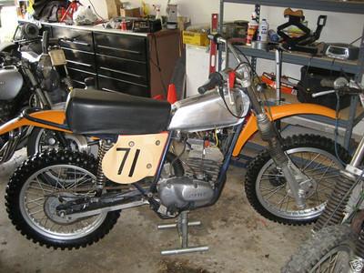 1974 125 Maico