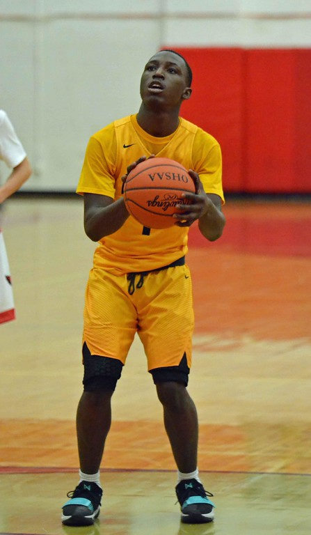 . Paul DiCicco - The News-Herald Action from Euclid-Mentor boys basketball Feb. 13.