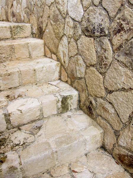 Stairs Cliffside below Sundancer