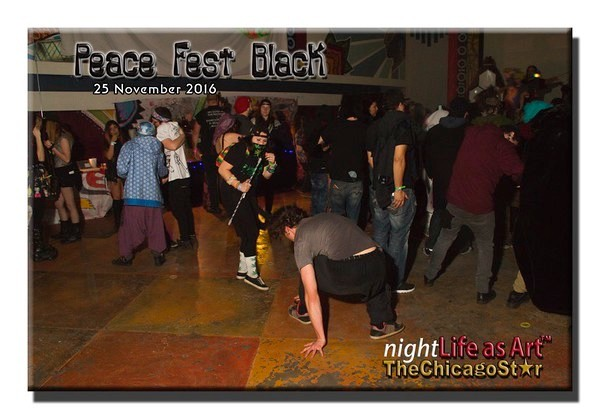 25 Nov 2016 Peacefest Black