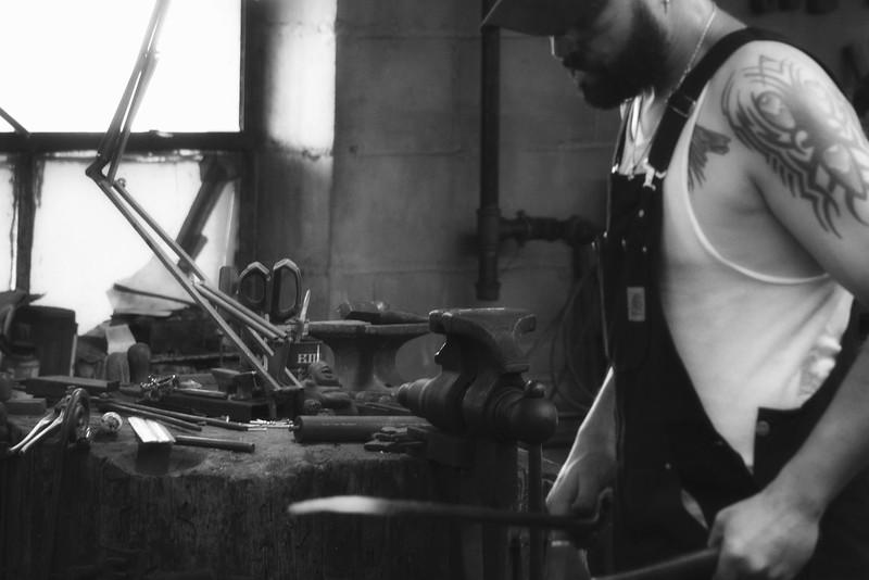 2016 Doors Open Milwaukee  Milwaukee Blacksmith