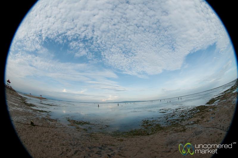 Dusk at Sanur Beach - Bali, Indonesia