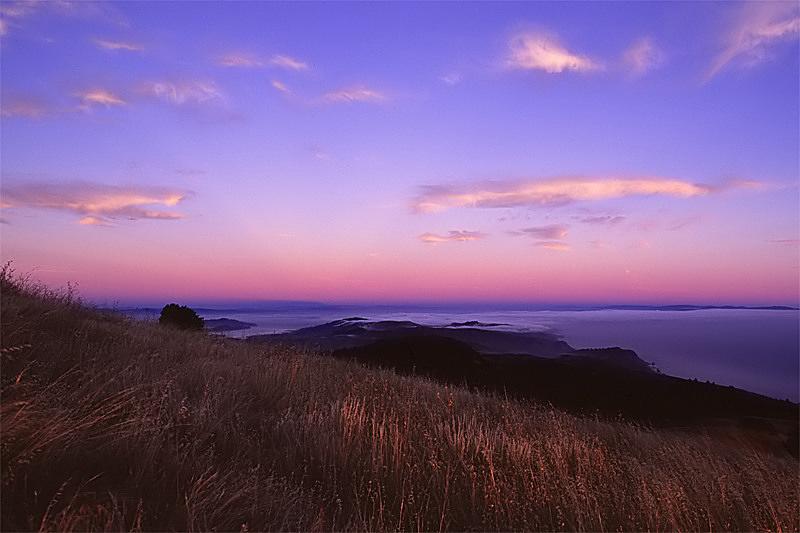 Mount Tamalpais Sunset