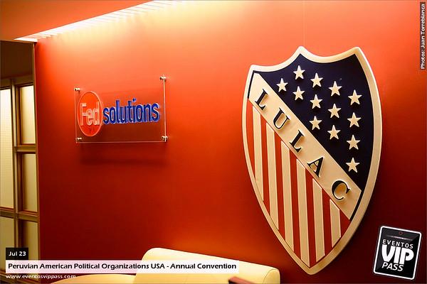 Peruvian American Political Organizations USA - Annual Convention | Wed, Jul 23