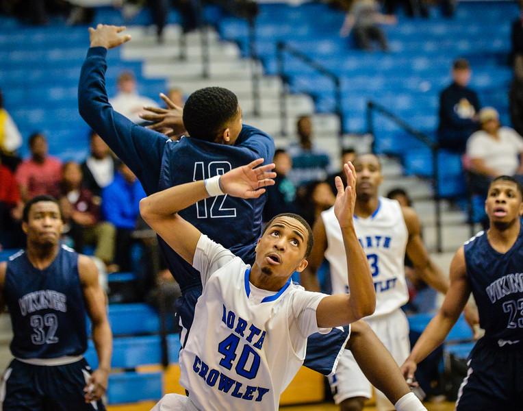 Basketball Boys Varsity vs  Lamar 01-21-14-16