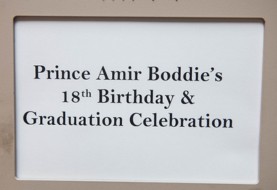 Amir's 18th Birthday and Graduation