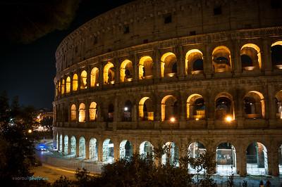 Rome la nuit | Rome by night