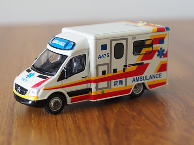 34 Hong Kong Mercedes-Benz Sprinter Ambulance