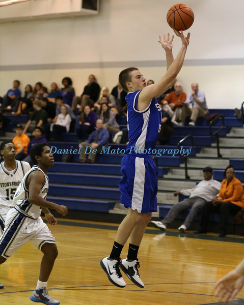 Shelter Island Boys Basketball vs Stony Brook 12-19-12