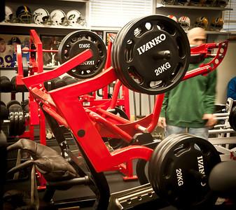2012-02-13 Max Rogers Athletic Pedulum Squat