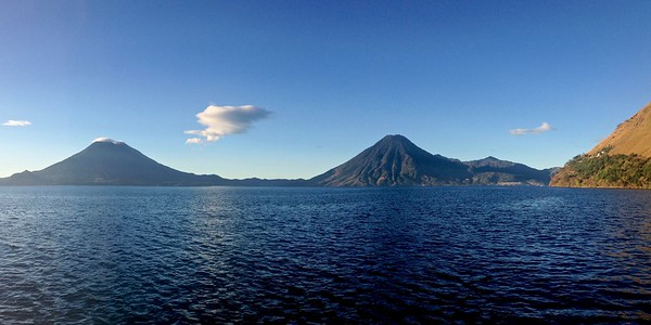 Landscape Views of Lake Atitlan, Guatemala