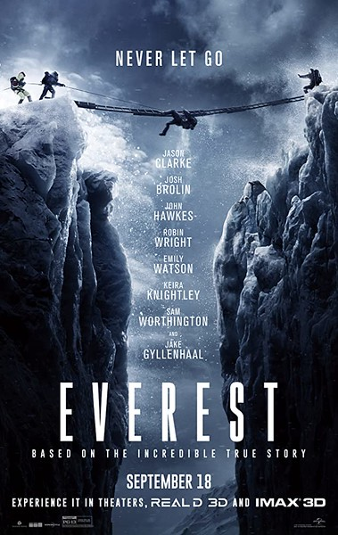 Adventure hiking movies - Everest (2015)