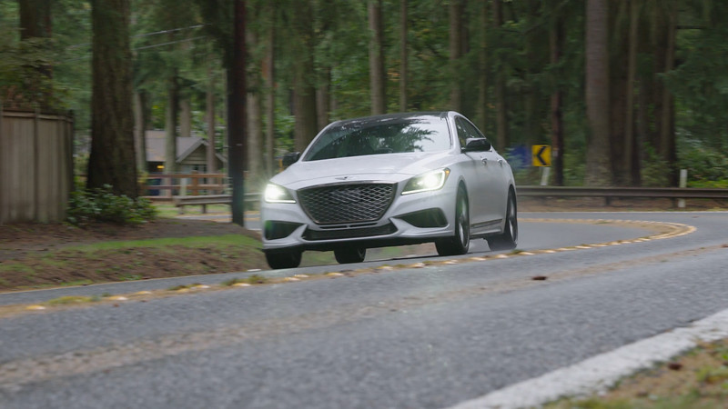 2018 Genesis G80 AWD Driving Reel