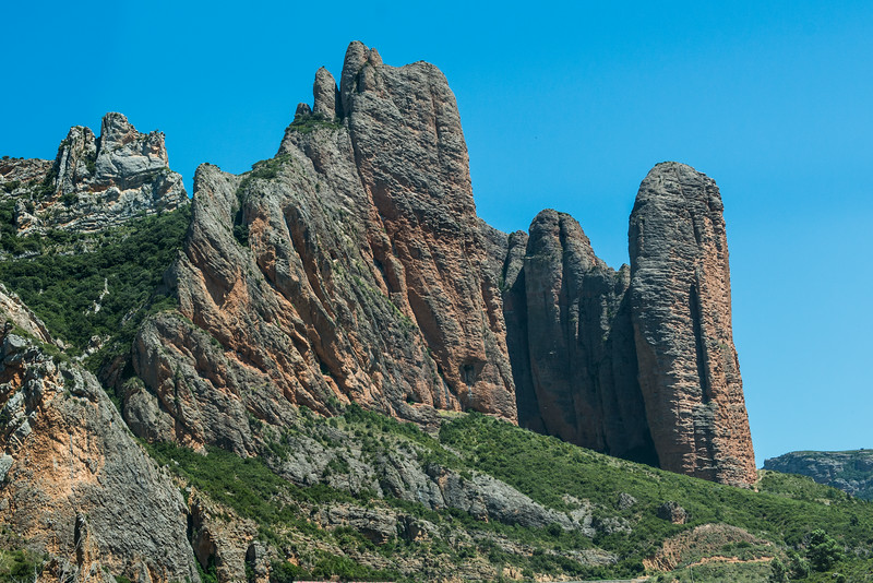 Jagged Peaks near Huesca, Spain