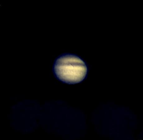 Jupiter, Bresser Skylux 700/70, afokálně Kodak Z1085IS, okulár 12mm