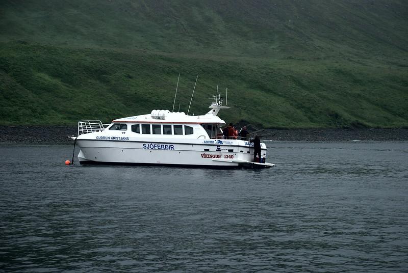 Guðrún Kristjáns. Sjóferðir Hafsteins og Kiddýjar.