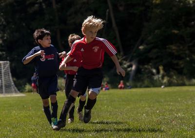 U9 boys soccer