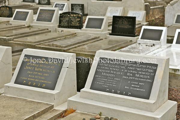 NEW ZEALAND, Wellington. Jewish sector, Karori Cemetery. (8.2010)