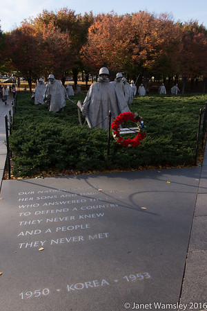 2016 Korean War Memorial