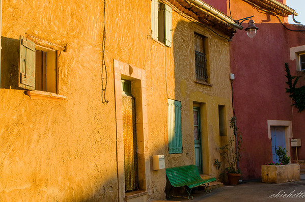 Roussillon ,the village
