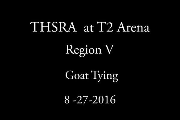 Saturday  'Goat Tying'