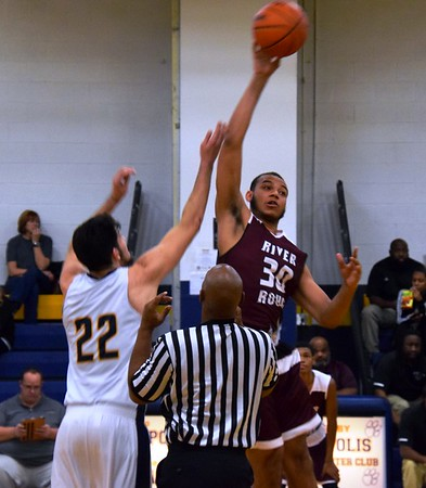 HS Sports - River Rouge at Annapolis Boys Basketball