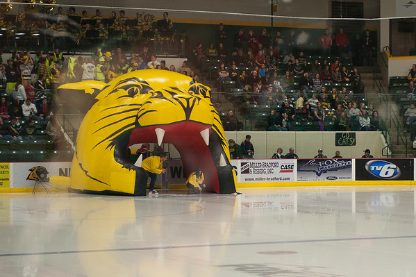 Northern Michigan University vs University of Michigan Hockey