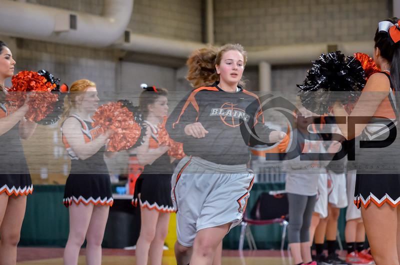 2014 Blaine Girls Varsity Basketball at State vs. Cashmere Girls Basketball