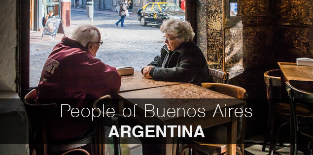 People of Buenos Aires, Argentina