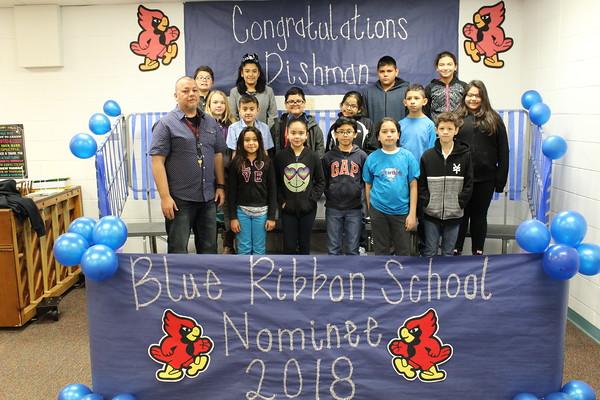 Blue Ribbon Student 2018