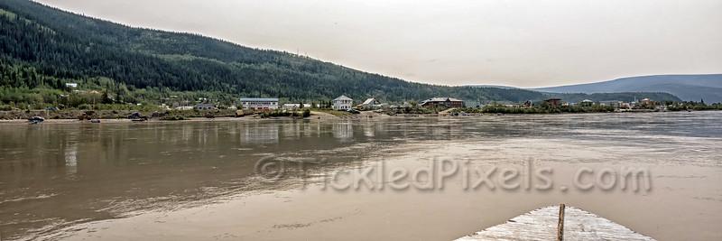 Dawson from the Yukon River