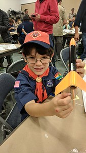 Cub Scouts Rocket Build and Launch