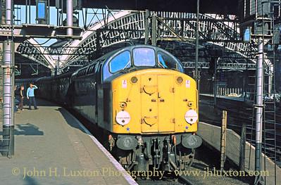 British Railways London Midland Region 1970s to 90s