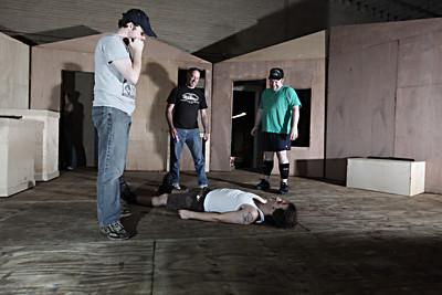 Evil Dead The Musical Rehearsals 9/13/09