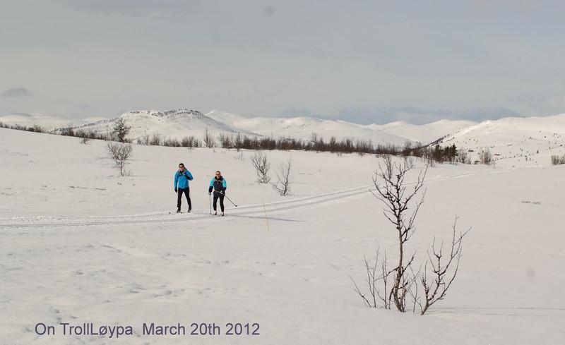 På TrollLøypa ved Veslefjellet 20mars 2012.jpg