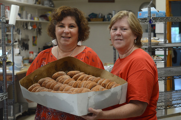 The Apple Barn's apple cider donuts - 080719