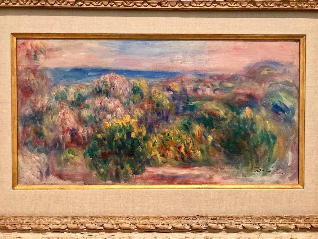 Landscape by Renoir.