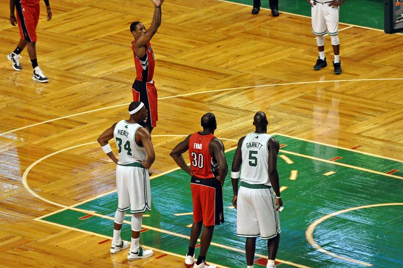 Raptors pre-season game