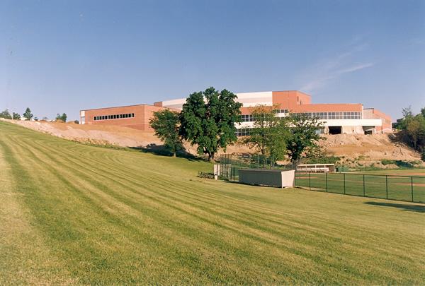 . Lepley Sports Center. Photo credit: Oakland University Kresge Library archives