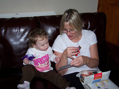 Amelia's New Year Visit 2009-10